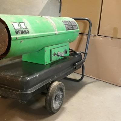 Olejové topné automaty DZH 30-2 - použité