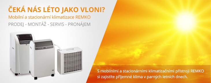 Teplovzdušné automaty REMKO