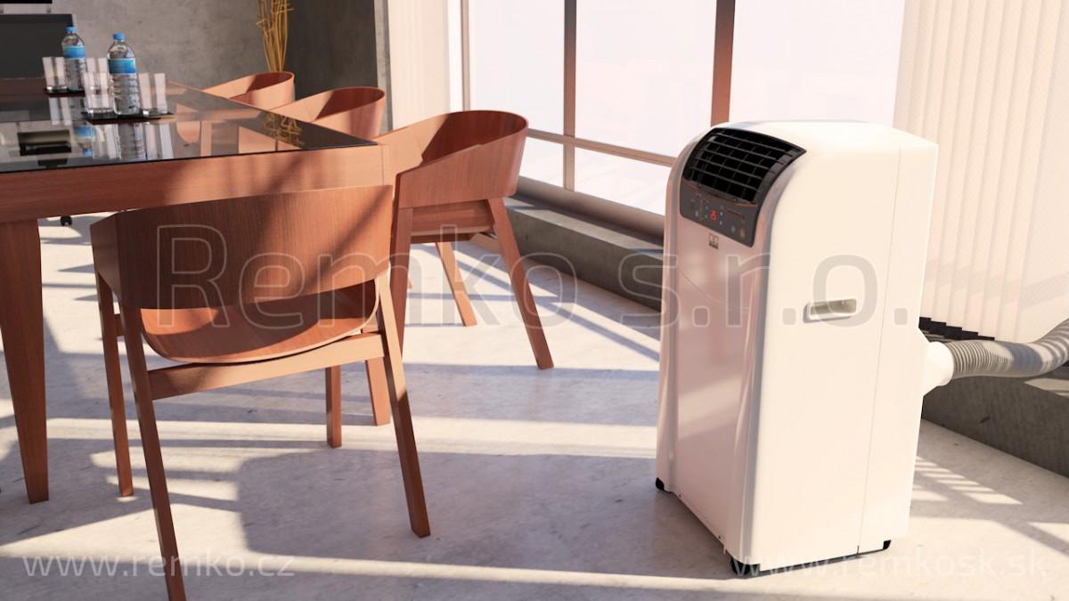 jednodílná mobilní klimatizace