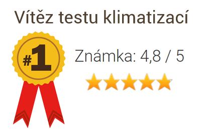 vítěz testu mobilních klimatizací