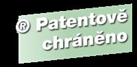 patentově chráněno