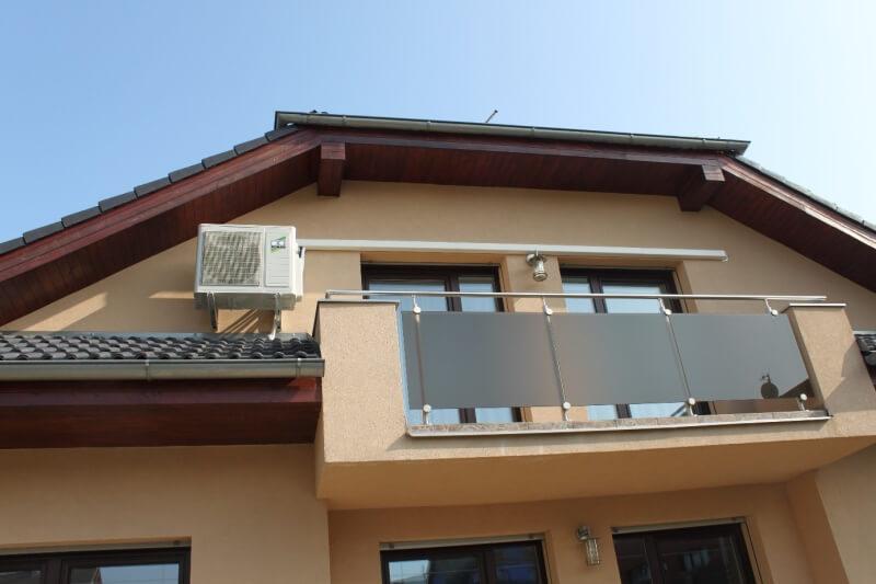 Vnější klimatizační jednotka - rodinný dům