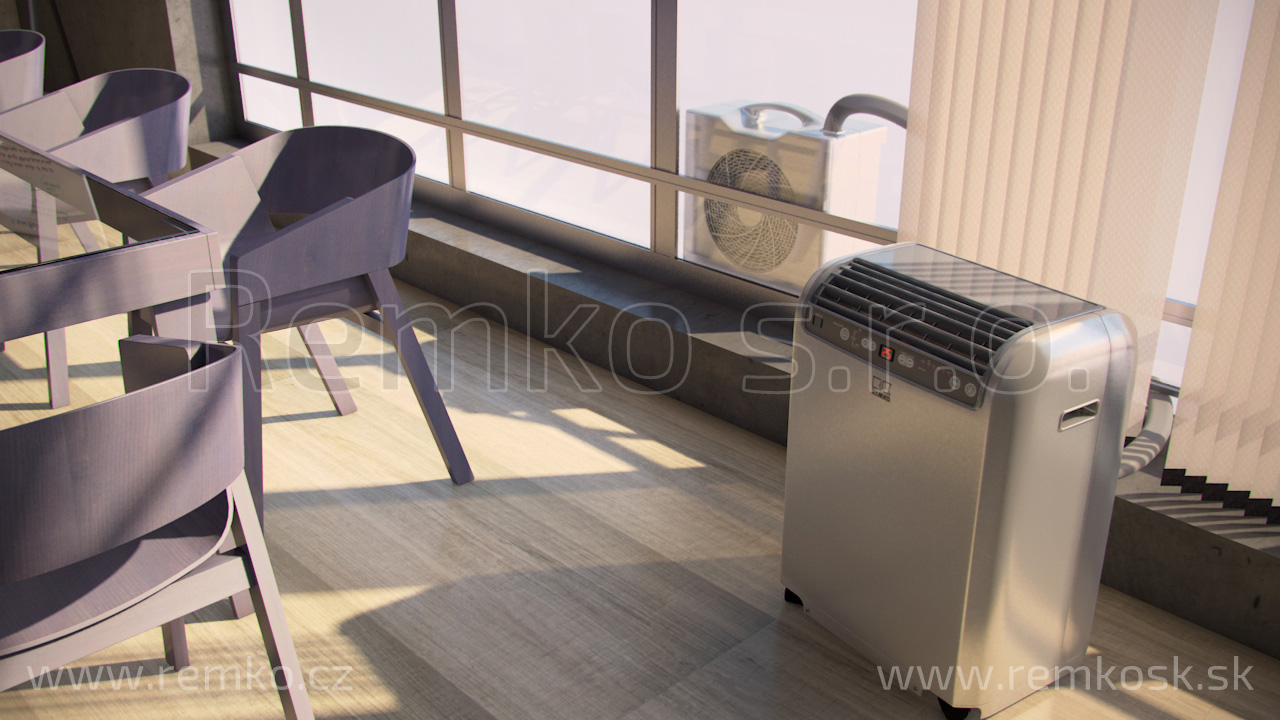 mobilní klimatizace Remko RKL461