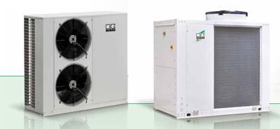 klimatizační systémy - chillery